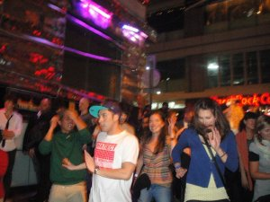 Street Dancing on Hong Kong Pub Crawl