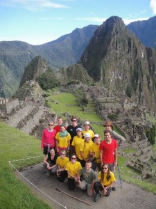 Final destination, Machu Picchu