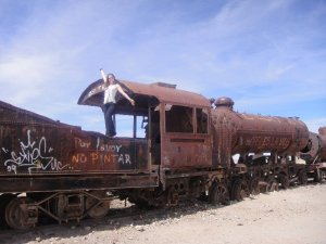 Train Cemetery Uyuni