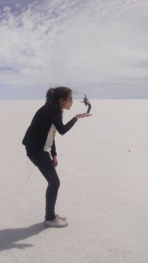 Blowing on the Salt Flats