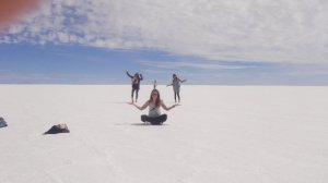 All wrong on the Salt Flats