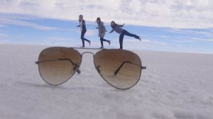 Sunglasses on the Salt Flats