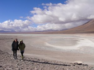 Vast landscapes on the Salt Flats Tour